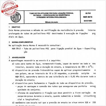 NBR8416 de 03/1984