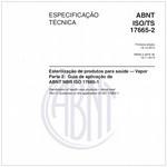 ABNT ISO/TS17665-2