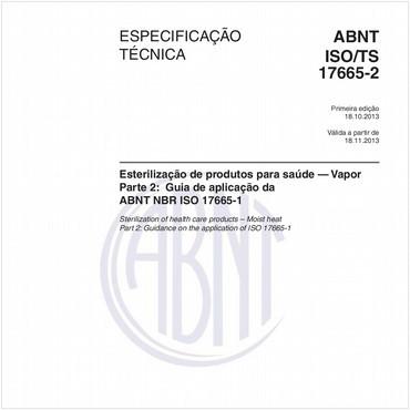 ABNT ISO/TS17665-2 de 10/2013