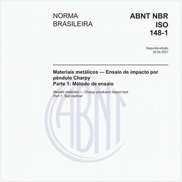 NBRISO148-1 de 10/2013