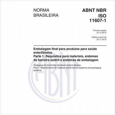 NBRISO11607-1 de 10/2013
