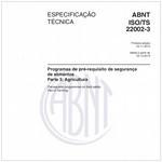 ABNT ISO/TS22002-3
