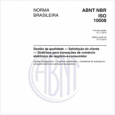NBRISO10008 de 11/2013