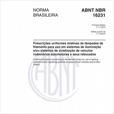 NBR16231 de 11/2013