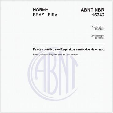 NBR16242 de 02/2020