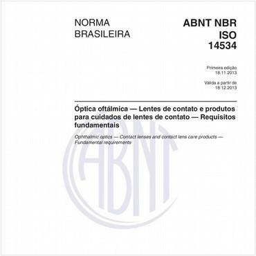 NBRISO14534 de 11/2013