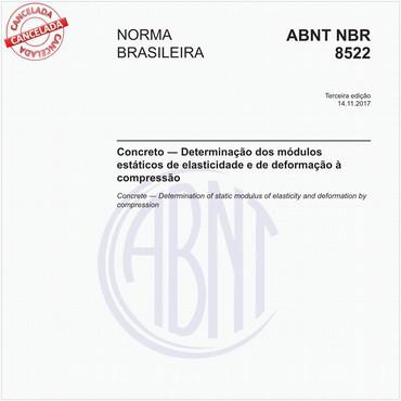 NBR8522 de 11/2017