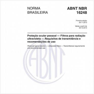 NBR16248 de 11/2013