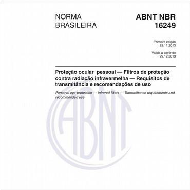 NBR16249 de 11/2013