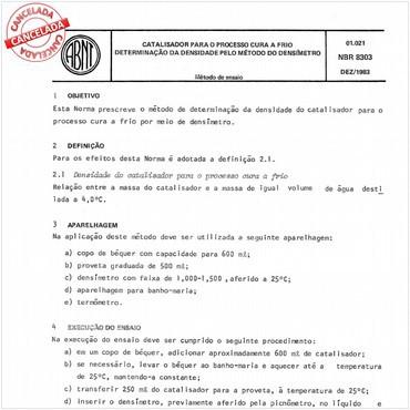 NBR8303 de 12/1983