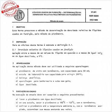 NBR8304 de 12/1983
