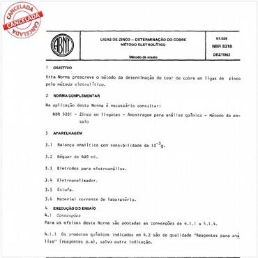NBR8316 de 12/1983