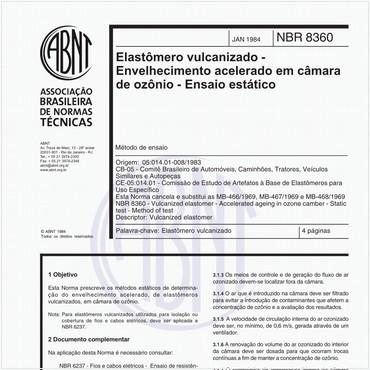 NBR8360 de 01/1984