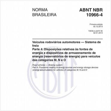 NBR10966-4 de 12/2013