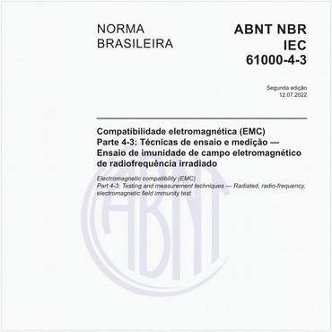 NBRIEC61000-4-3 de 02/2014