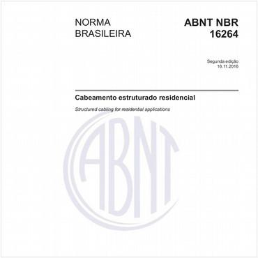 NBR16264 de 11/2016
