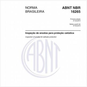 NBR16265 de 02/2014