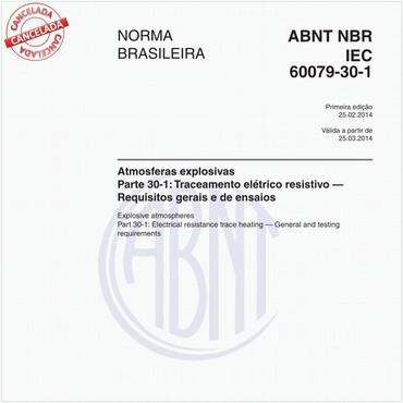 NBRIEC60079-30-1 de 02/2014