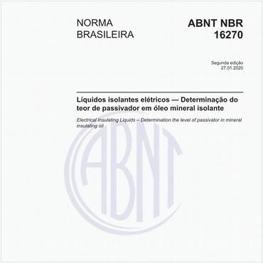 NBR16270 de 01/2020