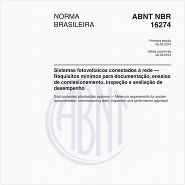 NBR16274 de 03/2014