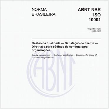 NBRISO10001 de 08/2013