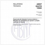 ABNT ISO/TR16982