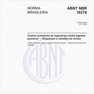 NBR16276 de 11/2018