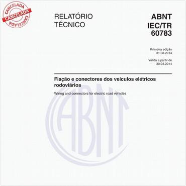 ABNT IEC/TR60783 de 03/2014