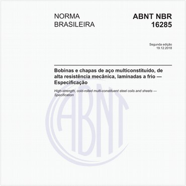 NBR16285 de 12/2018