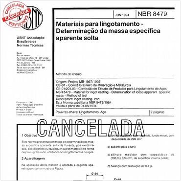 NBR8479 de 06/1994