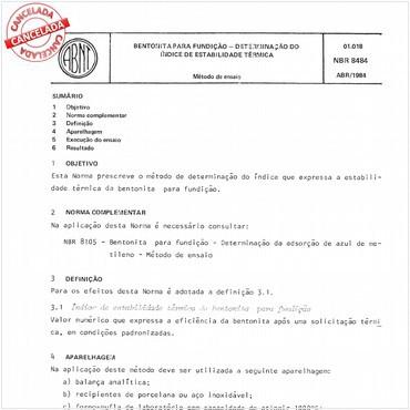 NBR8484 de 04/1984