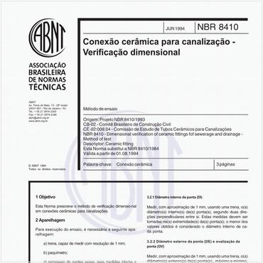 NBR8410 de 06/1994