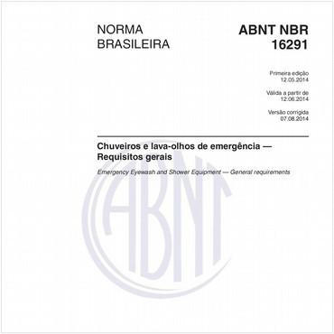 NBR16291 de 05/2014