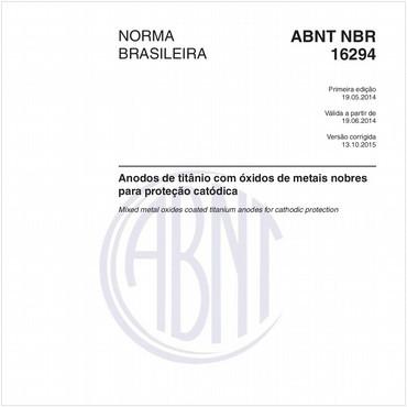NBR16294 de 05/2014