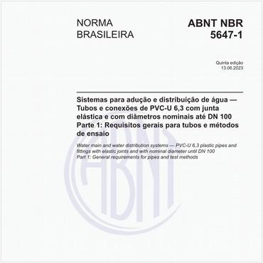 NBR5647-1 de 04/2019
