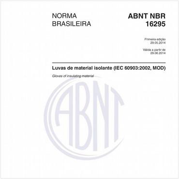 NBR16295 de 05/2014