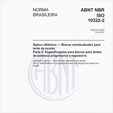 NBRISO10322-2 de 07/2014