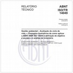 ABNT ISO/TR14049