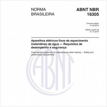 NBR16305 de 09/2014