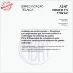 ABNT ISO/IEC TS17021-2
