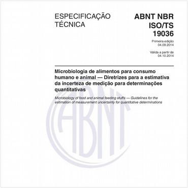 ABNT ISO/TS19036 de 09/2014