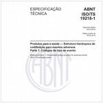 ABNT ISO/TS19218-1