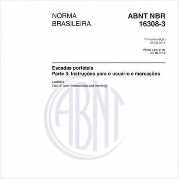 NBR16308-3 de 09/2014