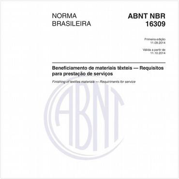 NBR16309 de 09/2014