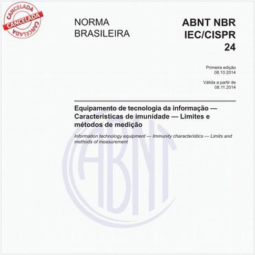 NBRIEC/CISPR24 de 10/2014