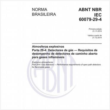 NBRIEC60079-29-4 de 11/2014