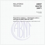 ABNT ISO/TR24971