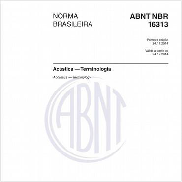 NBR16313 de 11/2014