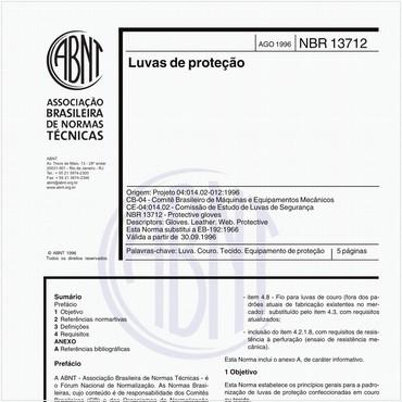 NBR13712 de 08/1996