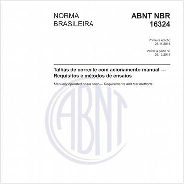 NBR16324 de 11/2014